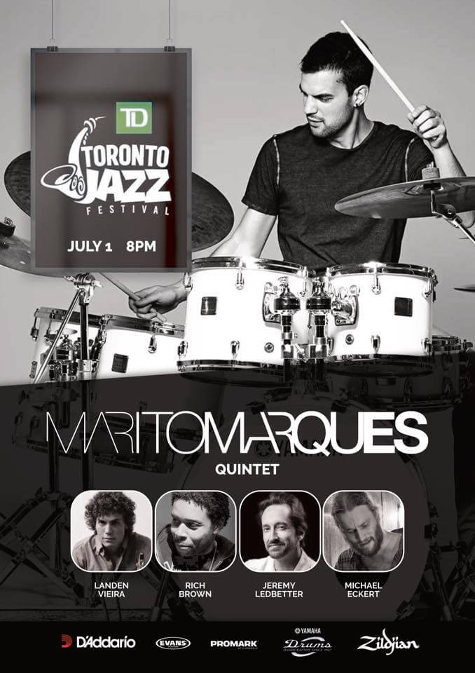 Toronto Jazz Festival with Marito Marques